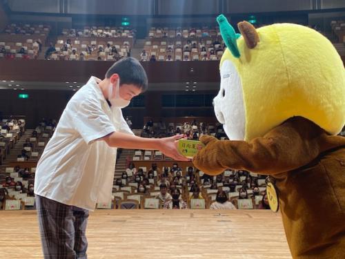 ひぃくん / ダンチャレ子表彰式